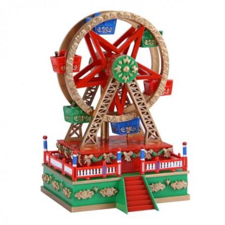 Ferris wheel made of plastics