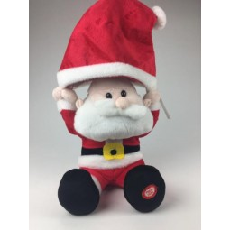 Music box Santa with cap