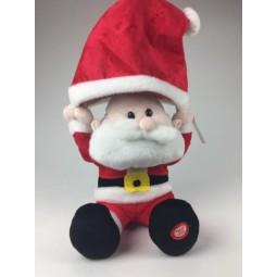 Music box Santa with cap