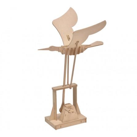 """Wooden edgy construction kit """"Bird"""""""