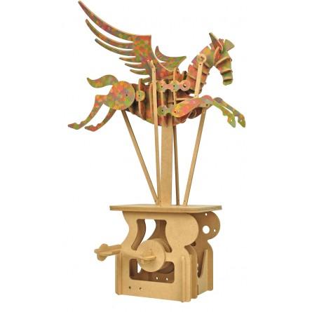 "Wooden edgy construction kit ""Pegasus """