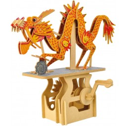 "Wooden edgy construction kit ""Dragon """