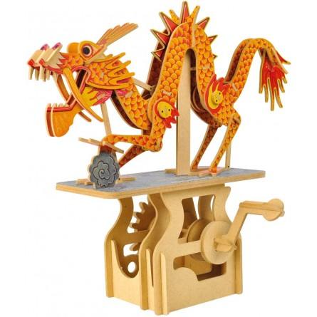 "Wooden edgy construction kit ""Dragon """