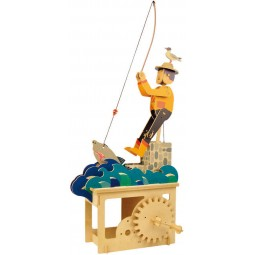"Wooden edgy construction kit ""Good fishing"""