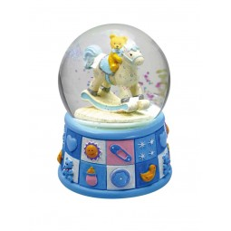Globe bears light blue 100mm