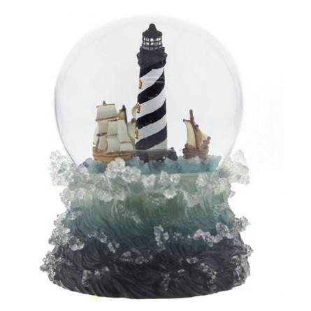 "Glitter globe ""Light tower"""