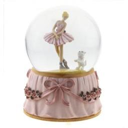 Globe Ballerina & Dog