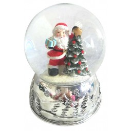 Globe Santa at a tree 80 mm