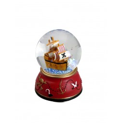 "Glitter globe ""Pirates"""