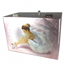 Jewelry music box ballerina