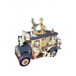 Music box milk wagon