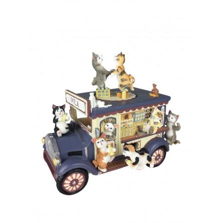 Music box milk wagon