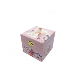 Jewelry box pink ballerina