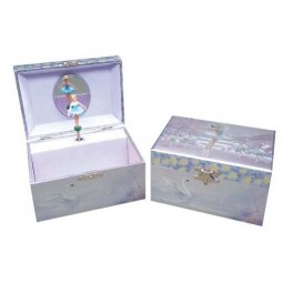 Jewelry box swan ballerina