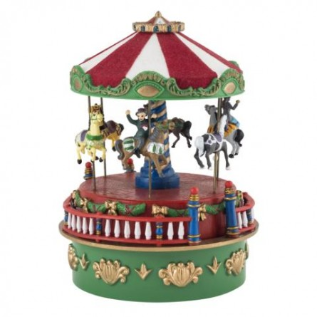 Merry-go-round made of plastics