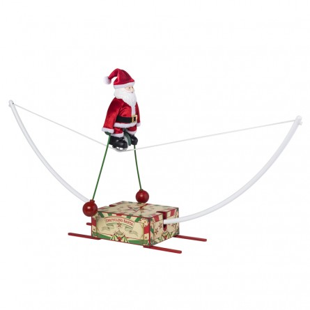 Santa on a Unicycle