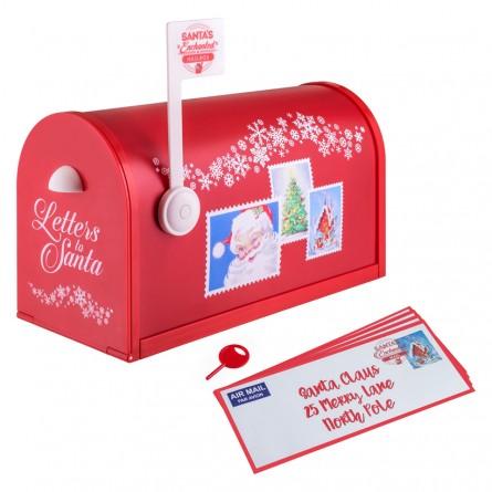 Santa's mailbox.