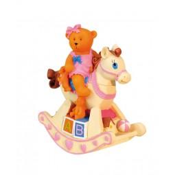 Baby Bear pink rocking horse