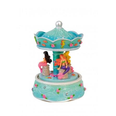 "Musicbox ""mermaid carousel"""