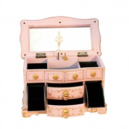 Jewellery chest pink