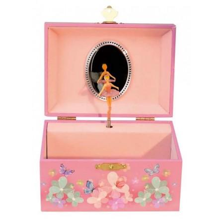 Jewelry musical box ballerina