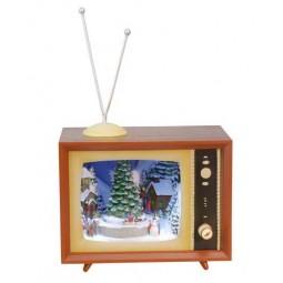 TV Snow Scene