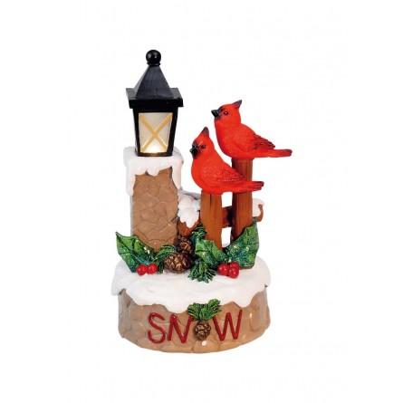 """Musicbox """"Cardinals at a lantern"""""""