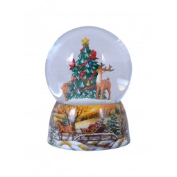 Snow globe Animals/Christmas tree