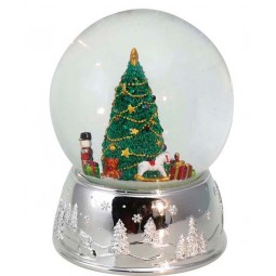 "Snowglobe ""Christmastree with presents"""