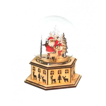 "Globe ""Santa in the forest"""
