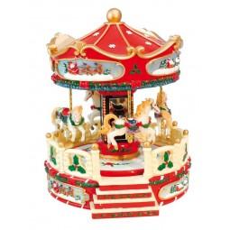 "Musicbox ""Christmas Carousel"""