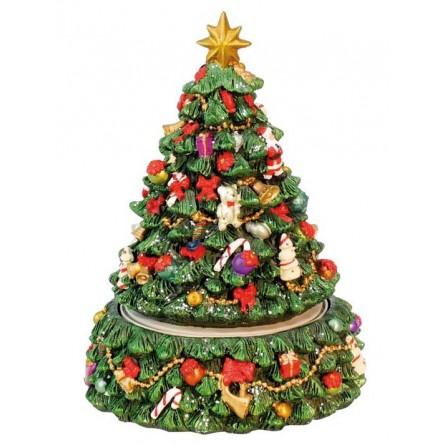 """Decorated christmas-tree"""