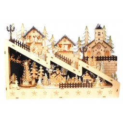 """""""Wooden Christmas-town"""""""