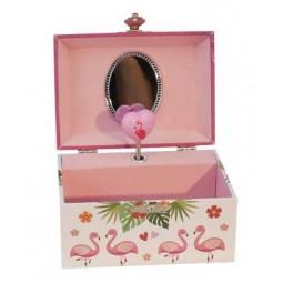 "Music box ""flamingo"""