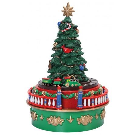 Christmas tree made of plastic