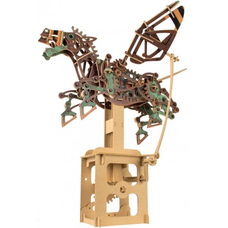 "Wooden edgy construction kit ""Pegasus – Flying horse"""