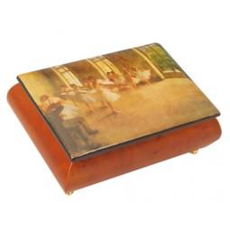 Jewelry box made of wood