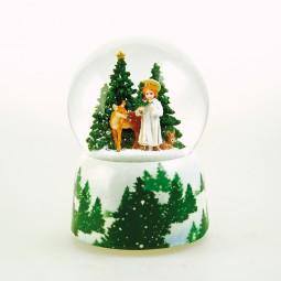 Music box Snow globe Christkind