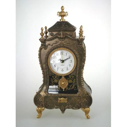 Chimney Clock Gold