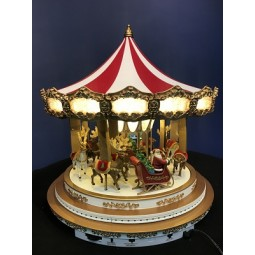White Oversize Carousel **NEW**.