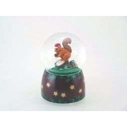 Glitter globe Squirrel