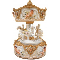 Carousel made of poly stone-170mm