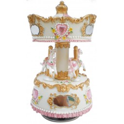 Carousel made of poly stone