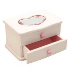 Jewelry box white
