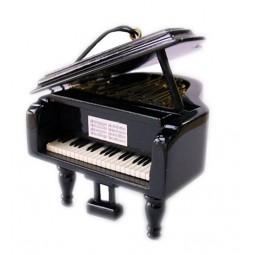 Small wooden piano