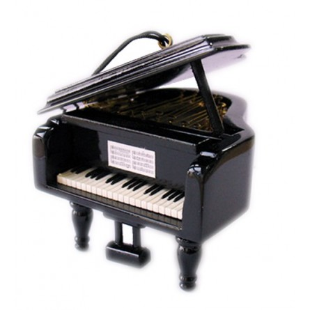 Small wooden piano