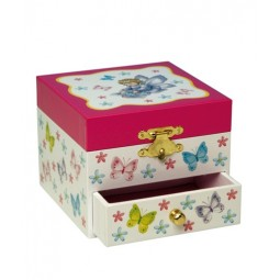Butterfly jewelry box
