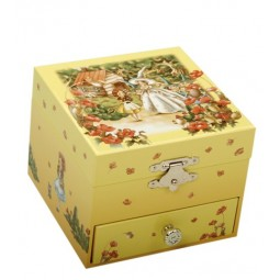 Wizard of oz jewellery box with one drawer