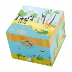 Jungle jewellery box
