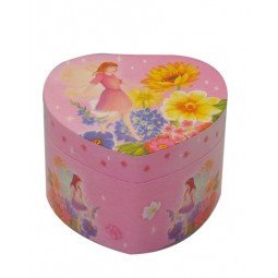 Jewelry box heart flower fairy